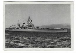 63 SM - SALON DE LA MARINE 1944 - CUIRASSÉ STRASBOURG - Cachet à Date 17 Juin 1944  (2 SCAN) - Posta Marittima