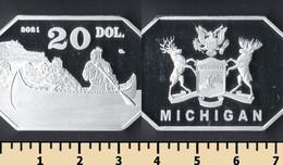 Michigan 20 Dollars 2021 - Non Classificati