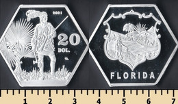 Florida 20 Dollars 2021 - Non Classificati