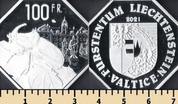 Valtice 100 Francs 2021 - Non Classificati