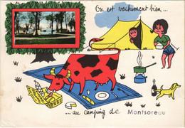 CPM MONTSOREAU Au Camping De Montsoreau (1165075) - Andere Gemeenten