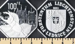 Lednice 100 Francs 2021 - Non Classificati