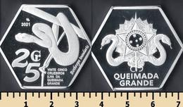 Ilha Da Queimada Grande (Snake Island) 25 Cruzeiro 2021 - Non Classificati