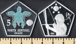 North Sentinel Island 5 Seashells 2021 - Non Classificati