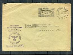 """Deutsches Reich / 1940 / Brief """"Frei Durch Abloesung"""" Ex Reichsstelle Fuer Den Aussenhandel Berlin (4524) - Briefe U. Dokumente"""