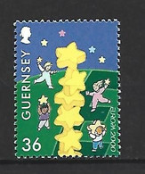 Timbre De Europa Neuf ** Guernesey N 864 - 2000