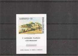 Brésil ( BF 26 XXX -MNH) - Blocks & Sheetlets