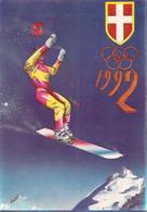 France Postcard 1992 Albertville Olympic Games - Mint (T24-5) - Invierno 1992: Albertville