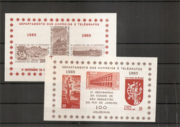 Brésil ( BF 14/15 XXX -MNH) - Blocks & Sheetlets