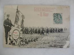 MILITARIA - 10ème Bataillon De Chasseurs à Pied (animée) - Regiments