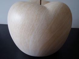Pomme En Céramique, Imitation Bois, Dimensions 21 X 21 X 18 Cm, Poids 1260 Gr - Altri