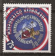 Autriche Austria 1999 Sport Federation Snowboard Obl - 1991-00 Oblitérés