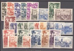 Maroc  :  Yv  246-65  ** - Unused Stamps