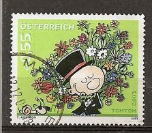 Autriche Austria 2003 Tomtom Flowers Obl - 2001-10 Oblitérés
