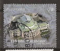 Autriche Austria 2013 Burgtheater Obl - 2011-... Oblitérés
