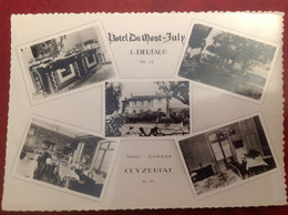 Ceyzeriat Hotel Du  Mont July , Lieutaud - Autres Communes