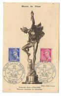 71 SM - SALON DE LA MARINE 1945 - MERCURE (Musée De DIJON) -  Cachet à Date 26  Juin 1945 - Posta Marittima