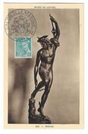 72 SM - SALON DE LA MARINE 1943 - MERCURE -  Cachet à Date  23  Juin 1943 - Posta Marittima