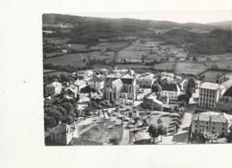 42 ))  BELMONT  Vue Aérienne   L'église Et La Place Jeanne D Arc   Cpsm Grand Format   Edit Combier 64.9 - Belmont De La Loire