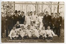 Chalus Carte Photo équipe De Football Chalus 1935(cliché Dauriat) - Chalus