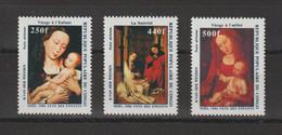 Congo 1986 Noel Peintures PA 358-60 3 Val ** MNH - Nuevas/fijasellos