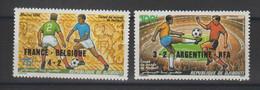 Djibouti 1986 Football Mexico 86 PA 227-28 2 Val ** MNH - Yibuti (1977-...)