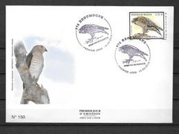 36 - 2010 - 235 - FDC - Oiseau, épervier - Zonder Classificatie