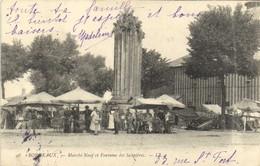BORDEAUX  Maché Neuf Et Fontaine Des Salinières RV - Bordeaux