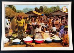 1188/CPM - Afrique - Bénin - Porto-Novo - Le Marché De Wando - Collection Sapec - Benin