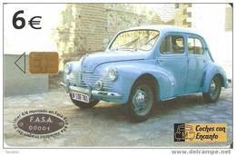 TARJETA COCHE RENAULT 4/4 DEL 11/03 Y TIRADA 501200 (CAR) - Automobili