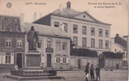 MP Gembloux Couvent Des Soeurs De N D Et Statue Sigebert - Gembloux