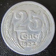 Jeton Monétaire 25c En Alu - Chambre De Commerce D'Eure Et Loir - Monetari / Di Necessità