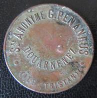 Jeton De La Société Anonyme G. PENANROS, Douarnenez (Ile Tristan) - Professionali / Di Società