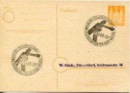 66613 Germany,special Postmark 1949 Dusseldorf Box Meisterschaften, Boxen,boxing - Pugilato
