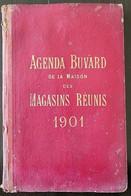 Agenda-Buvard De La Maison Des MAGASINS REUNIS 1901 (buvard,agenda, Partitions) - Altri