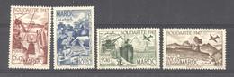Maroc  :  Yv  266-67  +  Av 65-66  ** - Unused Stamps