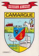 "Adesivi Ecusson Adesif Villes Et Provinces De France ""camargue"" - Non Classificati"