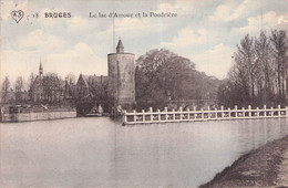BRUGES LE LAC D AMOUR ET LA POUDRIERE - Brugge