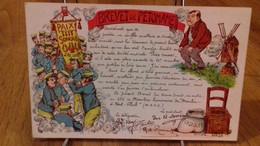 CPA. Humour - Brevet De Pétomane (1917).(S40-21) - Humour