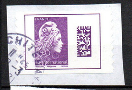 France Oblitéré Used  2018 Internationale   N° 1604   Cachet Rond - 2010-.. Matasellados