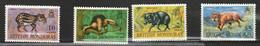 HONDURAS BRITANNIQUE - Faune, Pécari, Lion, Ginnut, Antbear - 1968 - MNH - British Honduras (...-1970)