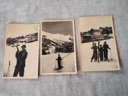 Photos 9x14 Ski Valloire Pâques 1936 - Places