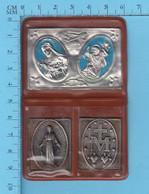 Religion - Ex-voto Sachet De Poche, Ste-Thérèse, St-christophe, Immaculéconception - Religion & Esotérisme