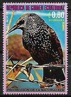 Equatorial Guinea - MNH ** 1976 : Common Starling - Sturnus Vulgaris - Zangvogels