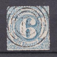 "Thurn Und Taxis - 1866 - Michel Nr. 53 N4 ""122"" Herbstein - Gestempelt - 55 Euro - Thurn And Taxis"