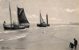 Heist - Heyst - Bateaux De Pêche (Nels Edition Laridon Soeurs, Villa Camille 1910) - Heist