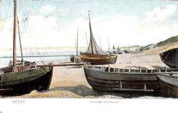 Heist - Heyst - Hivernage Des Barques (colorisée, D T C) - Heist
