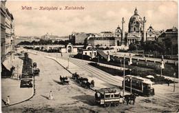 Autriche - Wien - Karlsplatz Und Karlskirche - Churches
