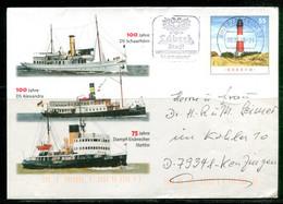 100 Jahre DS Schaarhörn, DS Alexandra, 75 Jahre Dampf-Eisbrecher Stettin (bateaux) - Umschläge - Gebraucht