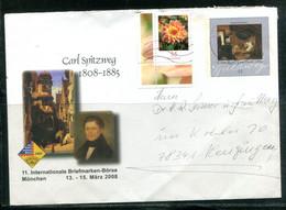 Carl Spitzweg - 11. Internationale Briefmarken-Börse - München 13-15 März 2008 - Umschläge - Gebraucht